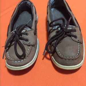 Sperry little girl sneakers